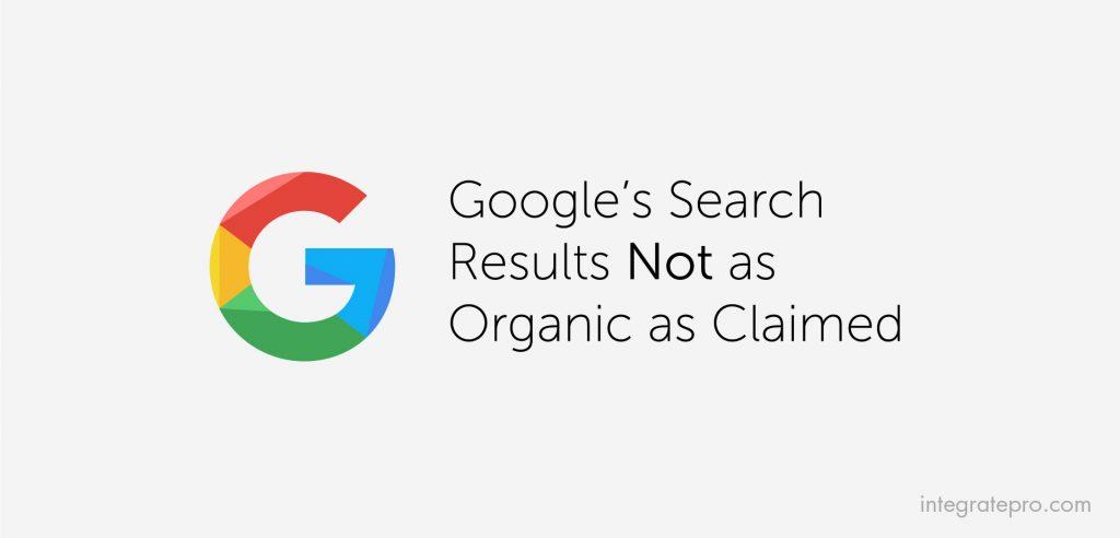 google-not-organic